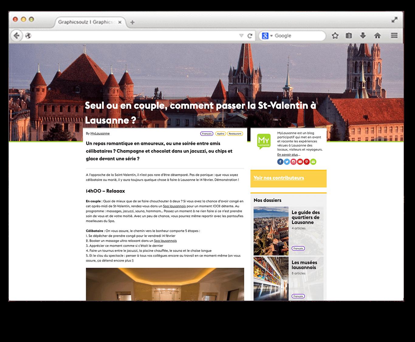 Brand Content : Exemples de jolis magazines de marque suisse - Digitalmint, agence marketing digital Lausanne