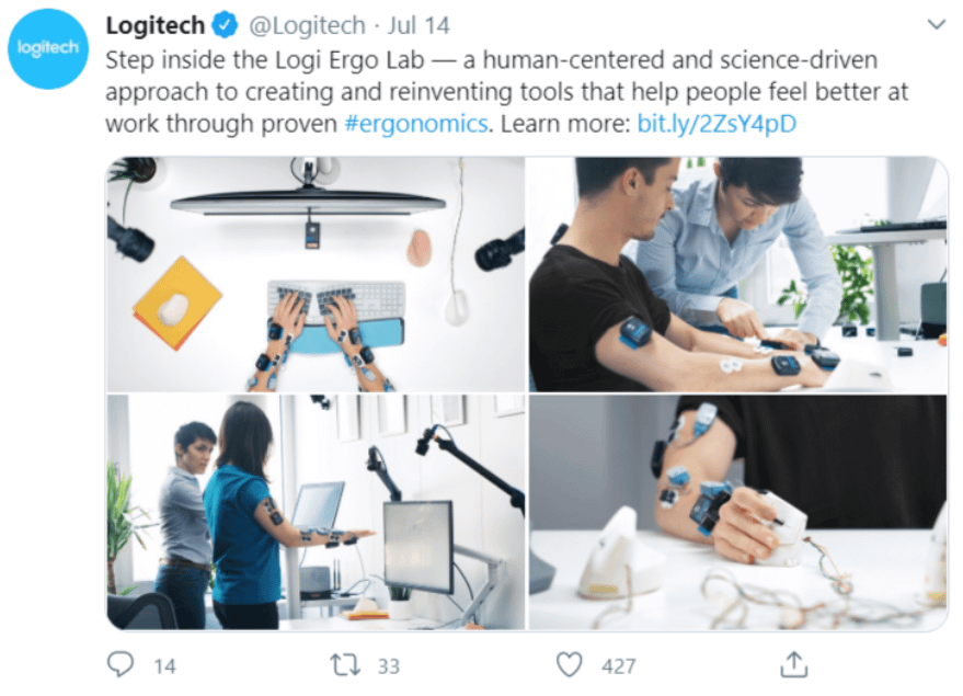 Thought Leadership : exemples suisses - Logitech