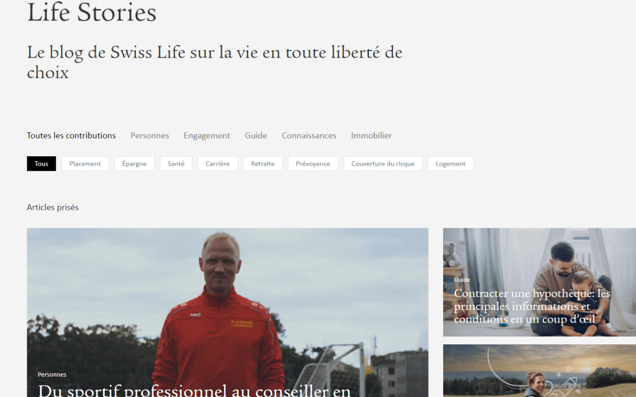 Blog, conseils, vies