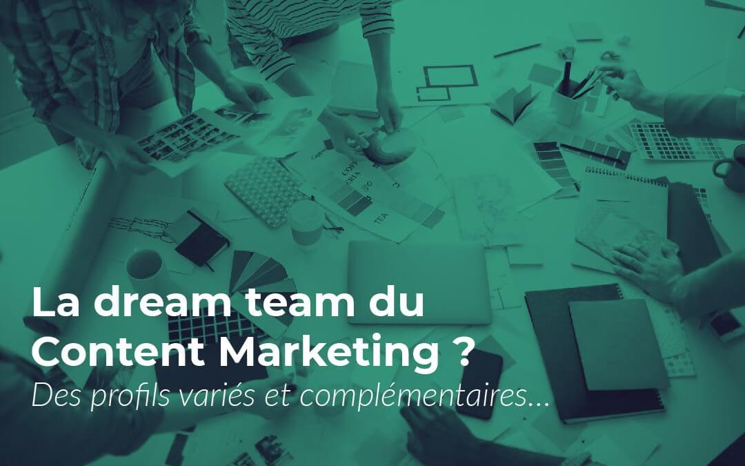 Content Marketing : l'équipe idéale pour créer des contenus performants !