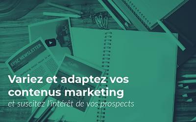 Content Marketing : quels types de contenus choisir ?