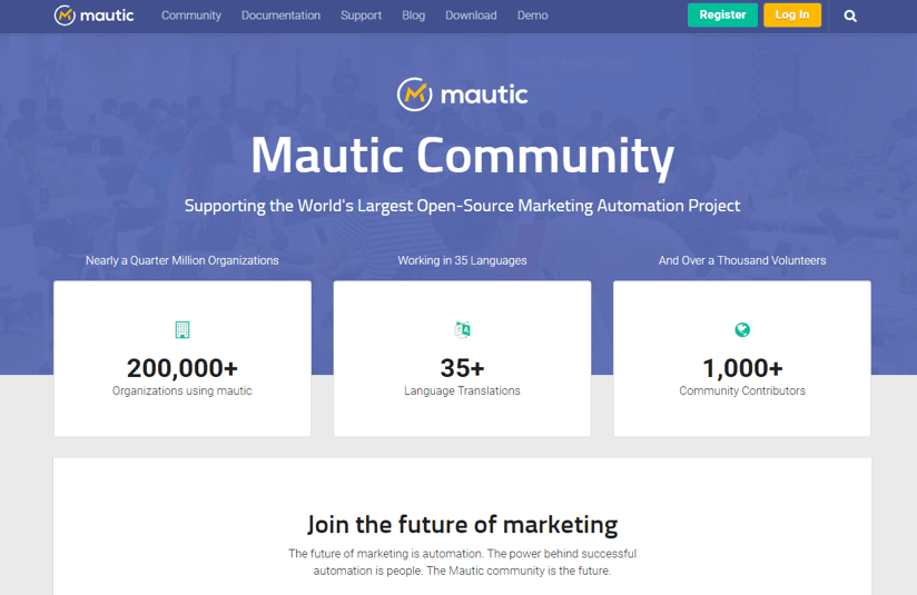 Mautic, open marketing software
